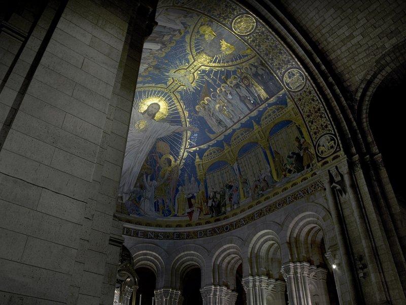 La Basilique du Sacré-Coeur de Montmartre, Paris