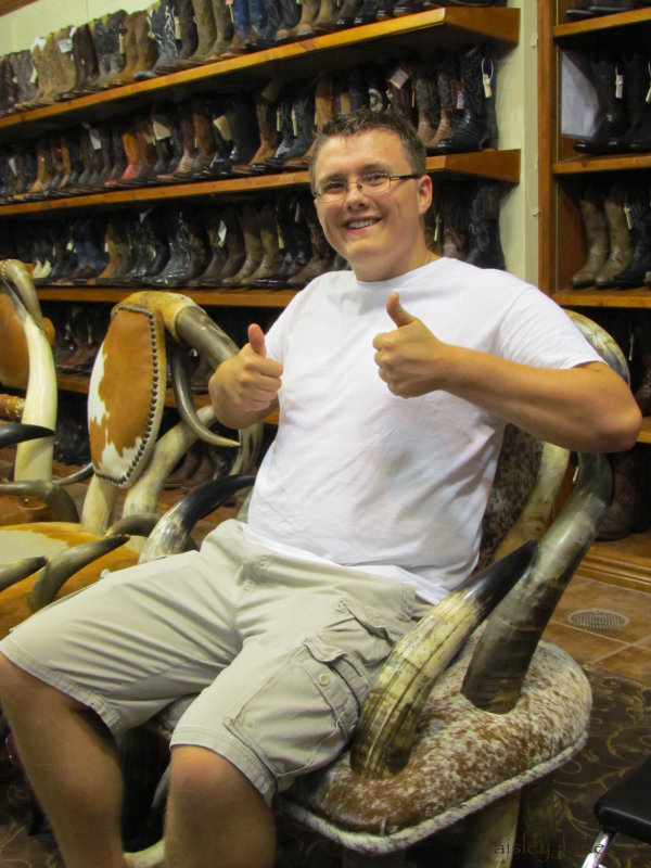 Jacob in a Cool Chair