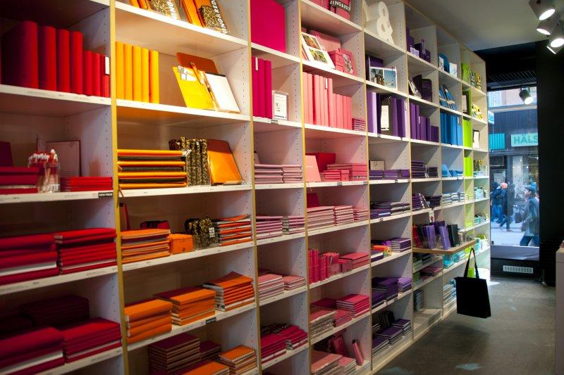 Map Sverige - A paper store in Sodermalm