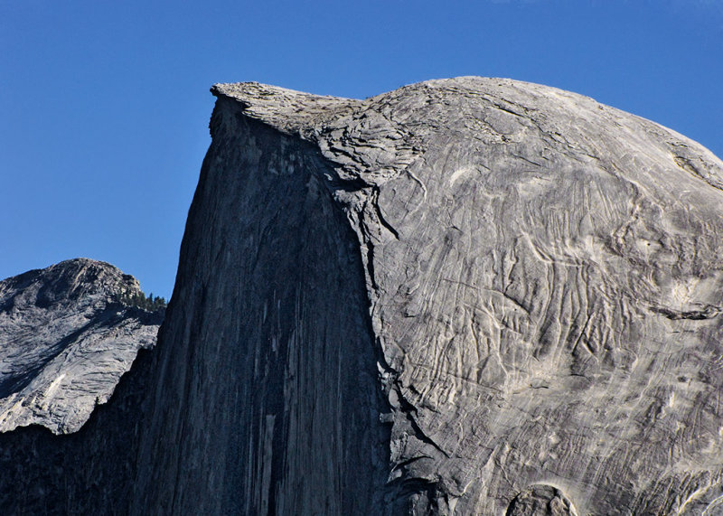 From Glacier Point, a look at the surface of Half Dome #1787