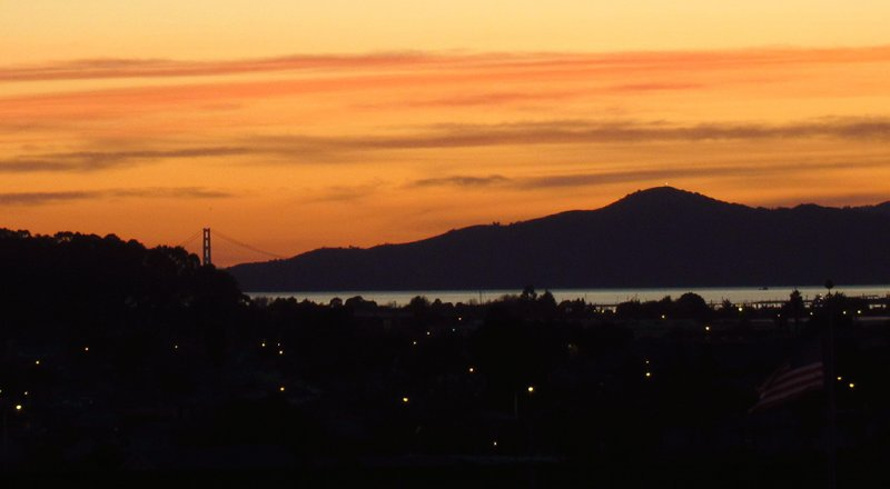 Off topic - but another dusk scene tonight