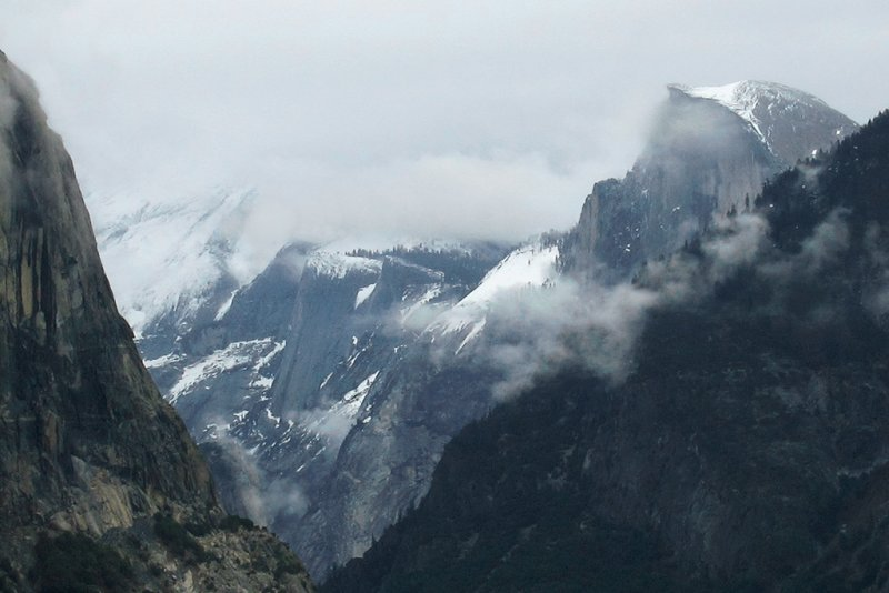 Half Dome from Tunnel View, Day 2, S95. #3579