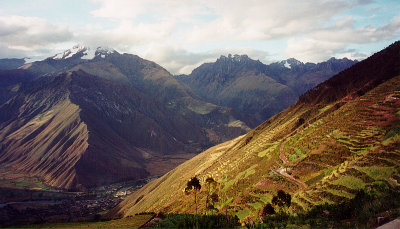 Gold Dusk in The Sacred Valley