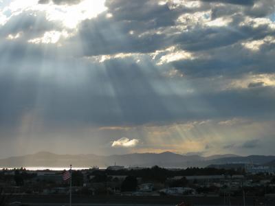 More sky drama, from a window near Albany