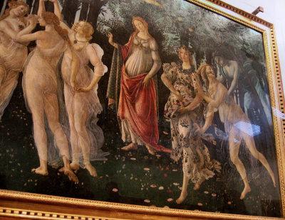 Botticelli: Primavera, Uffizi Gallery