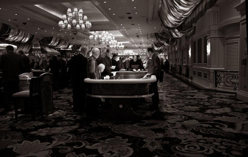 Crap Table Gamblers
