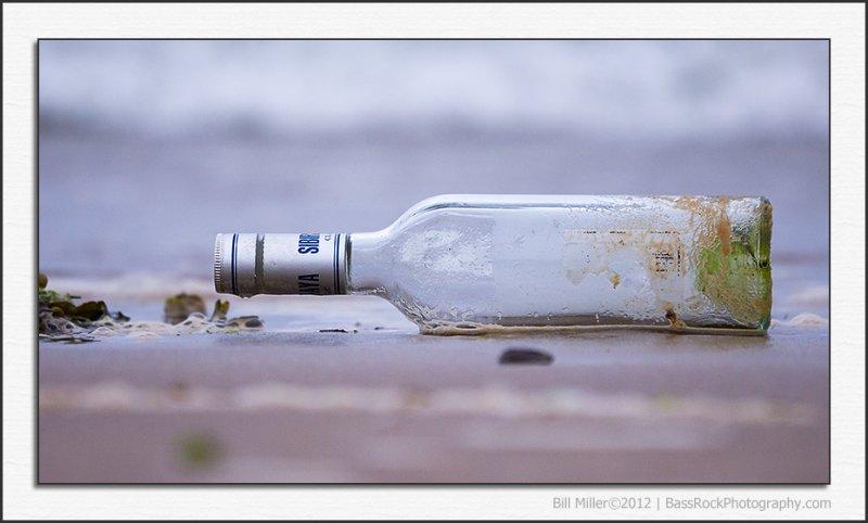 Message in a Vodka Bottle