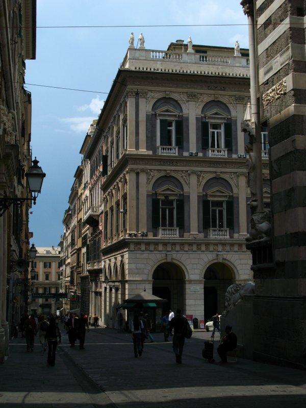 Edge of Piazza San Lorenzo