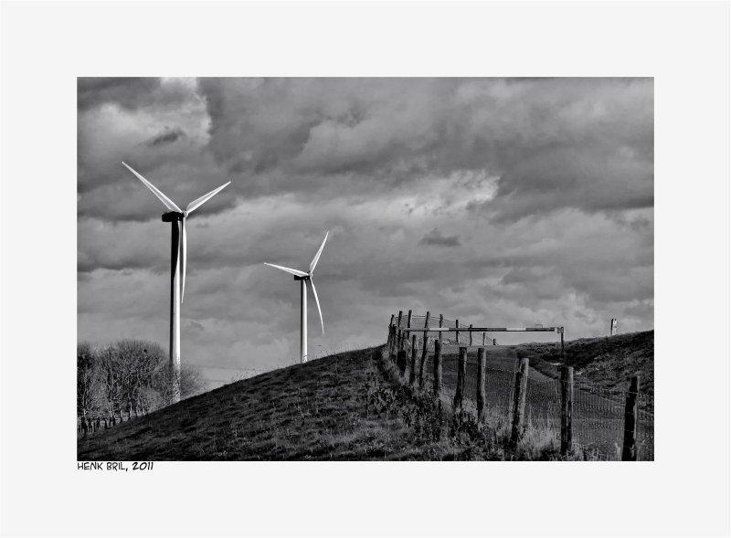 Wind Mills in Zeeland