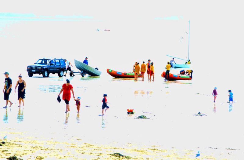 Fun at Mairangi Bay