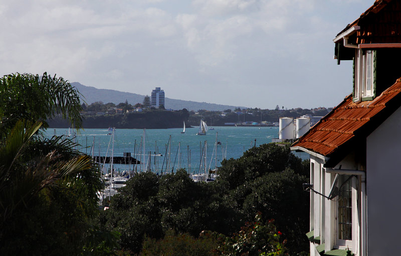 View from Ponsonby to the North Shore