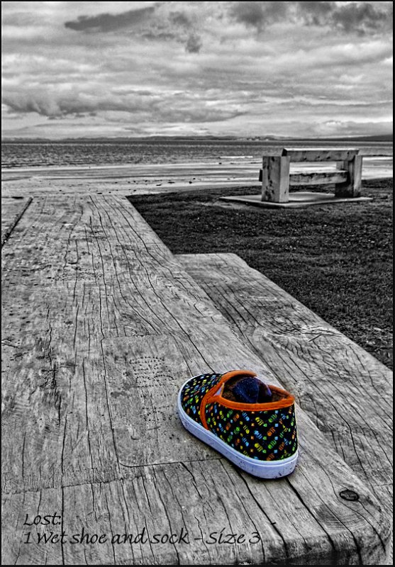 Colourful Lost Shoe