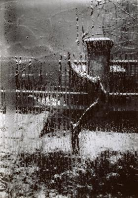 From the series The window of my studio, 1948