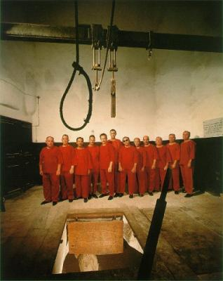 Formerly condemned political prisoners in Gallows Room