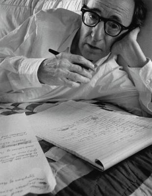 Woody Allen, New York, 1996