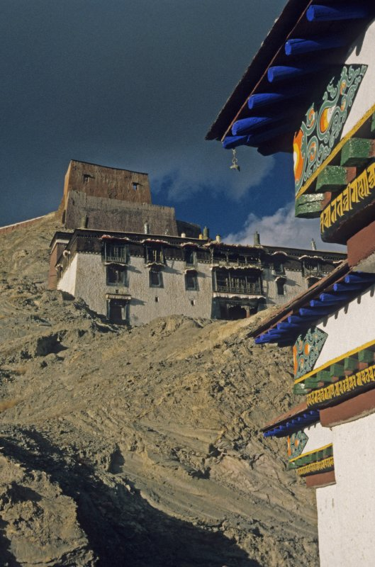 View on the Dzong of Gyantse