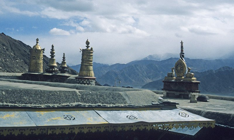 View from Drepung monastry