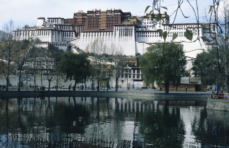 Lhasa, the Potala palace