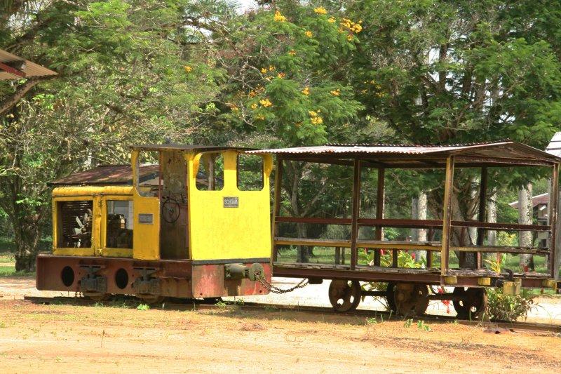 Once Surinames first railway - Restanten van de eerste spoorweg in Suriname