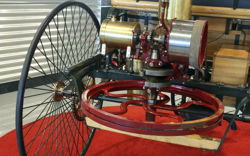 Benz Patent Motorwagen -1885-