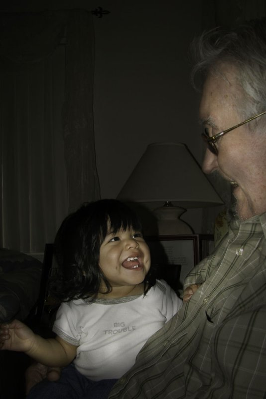 Anabelle and Grandpa John