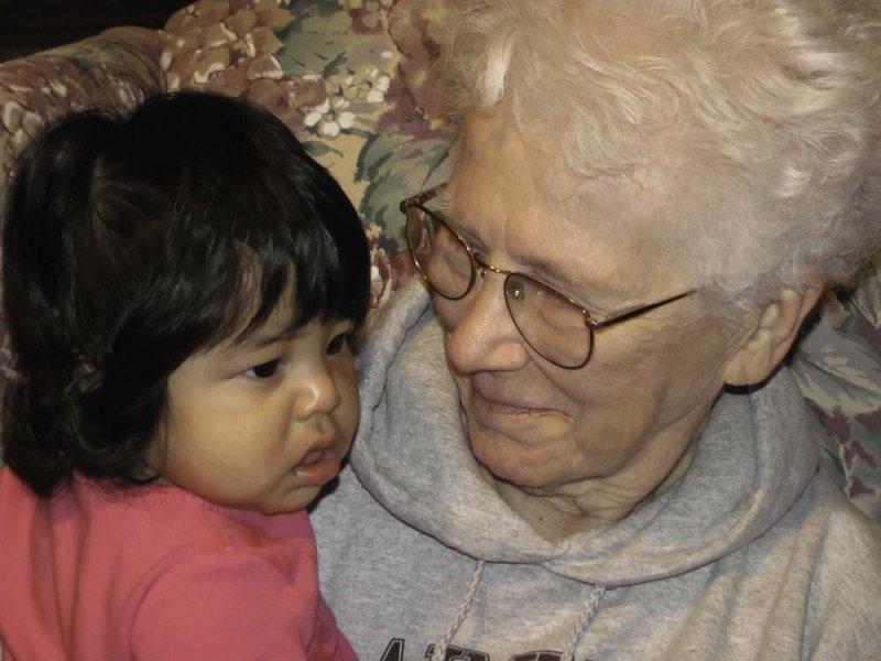 Anabelle and Grandma Lola