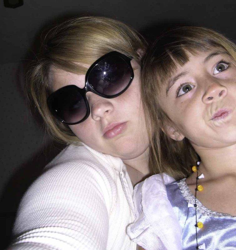 Katie and Dani