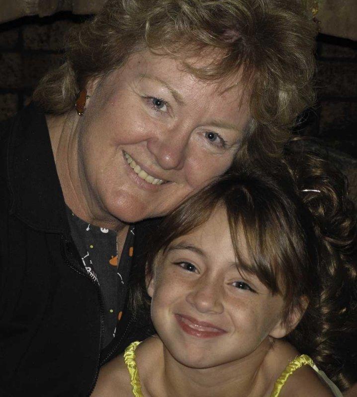 Grandma Cheryl and Danaka