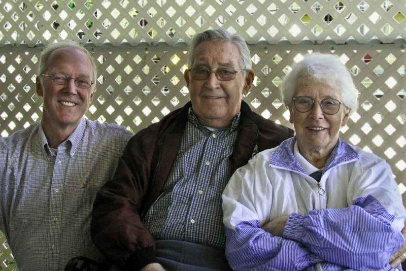 Steve, John and Lola