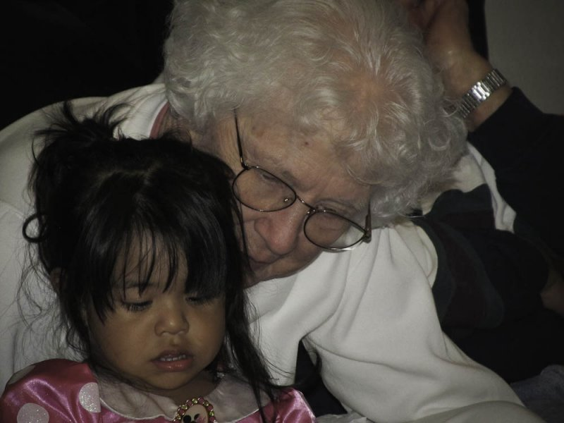 Anabelle and Grandma Lola