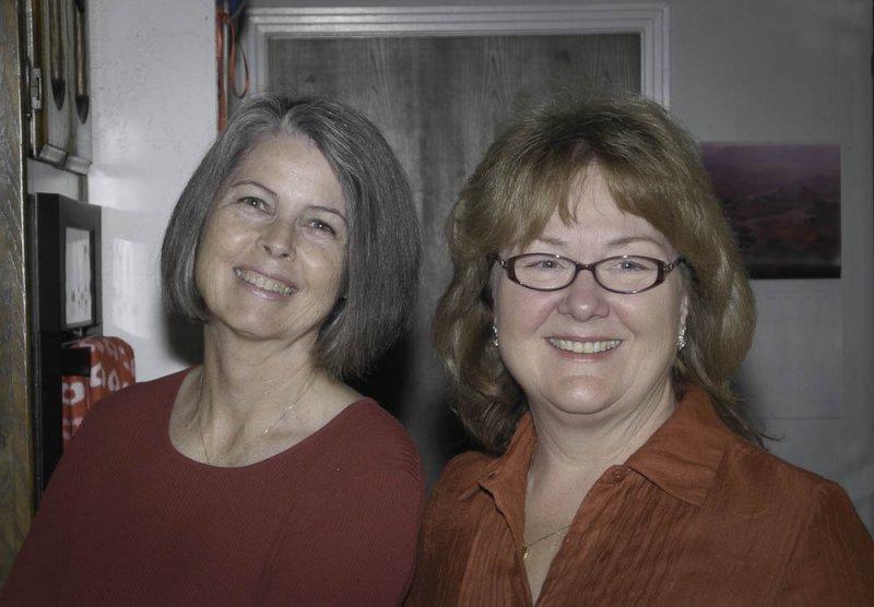 Nancy and Cheryl