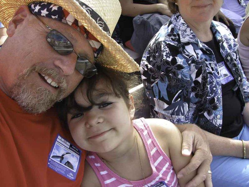 Grandpa Brent and Layla