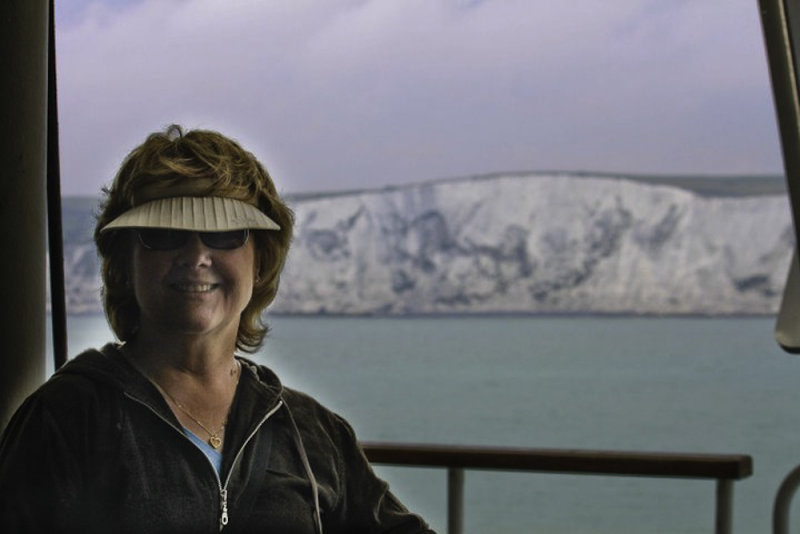 Cheryl and the White Cliffs of Dover