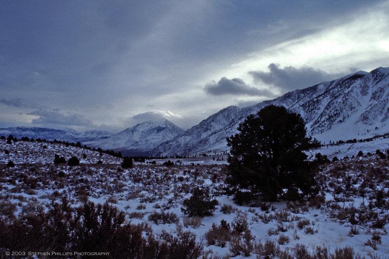 Winter in the Eastern Sierra