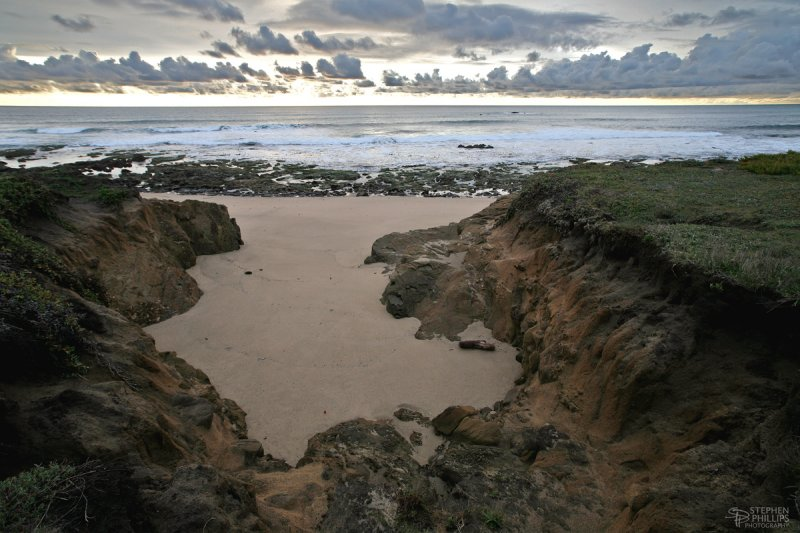 Tide Pools North of Pigeon Point