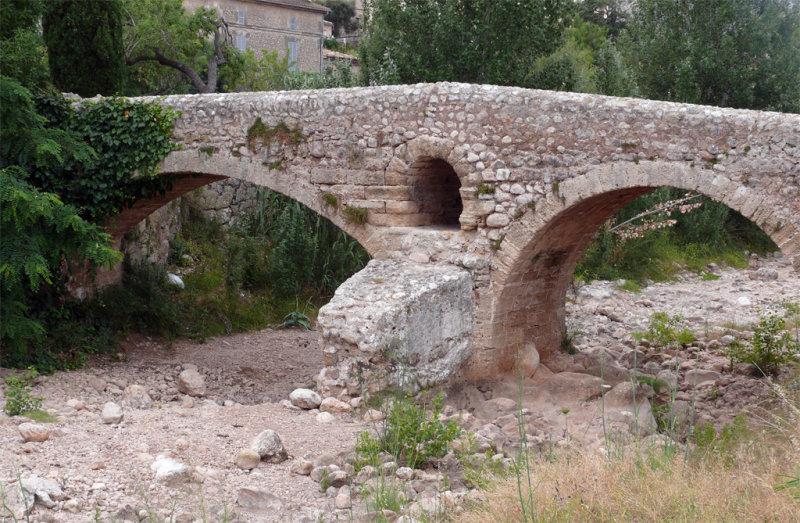 The Pont Roma {Roman bridge} Pollenca