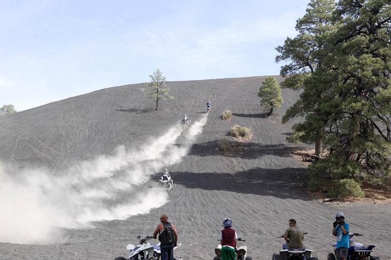 Hill climb at Cinder Lake 7