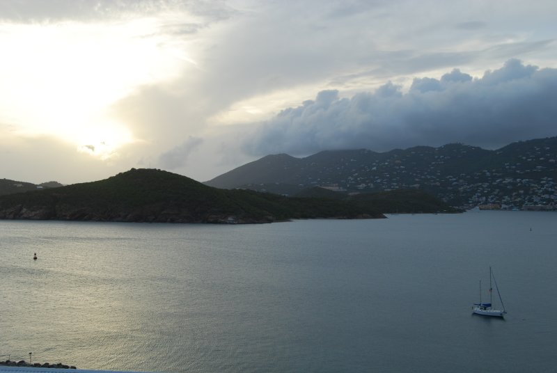 Storm Rolling In Over Charlotte Amalie