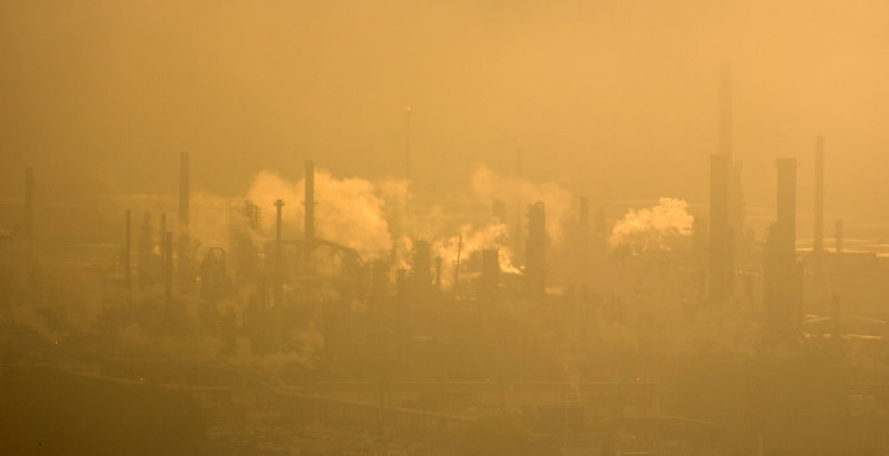 Les usines du Havre