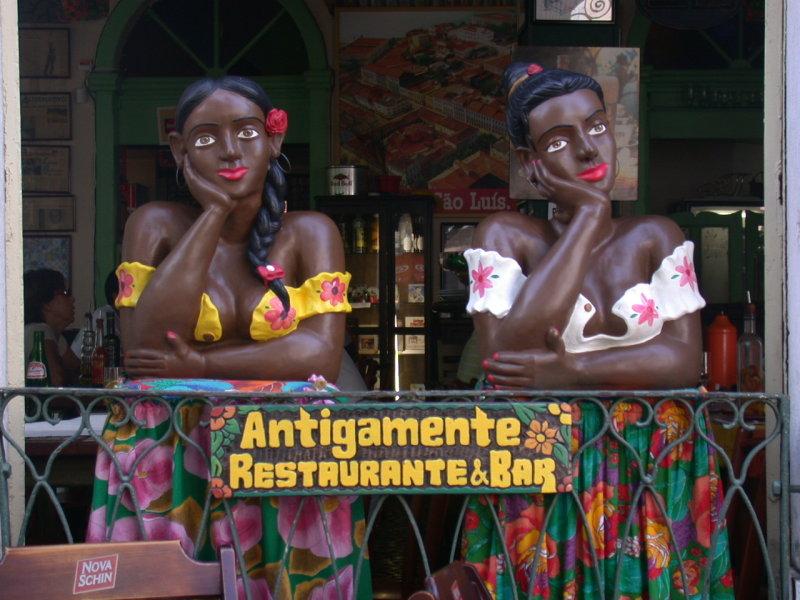 Antigamente, restaurant and bar