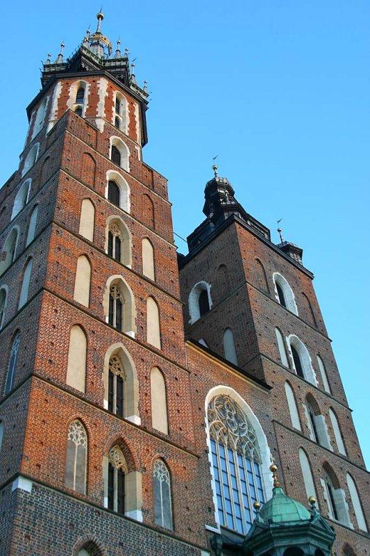 Krakow, Poland, Mariacka Basilica