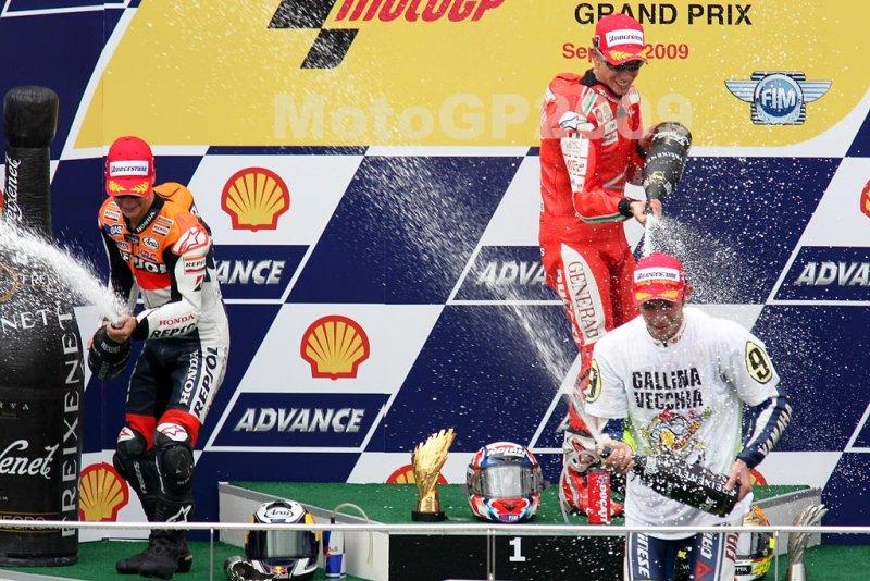 MotoGP victory celebration (6781)