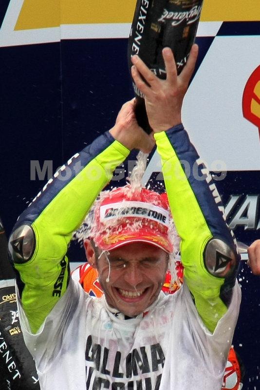 Valentino Rossi, world champion 2009