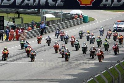 Start of 150cc race (6249)