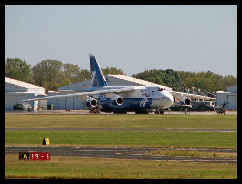 Polet Airlines Antonov-124 @ Smyrna Regional Airport