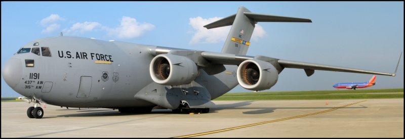 United States Air Force Boeing C-17 Globemaster (89-1191) **Panoramic**