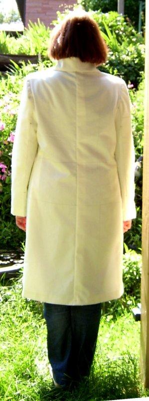 Muslin Coat  w/Suit Under - Back Narrowed