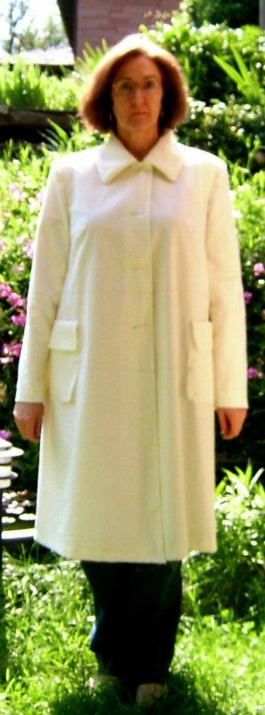 Muslin Coat w/Blouse Under - Back Narrowed