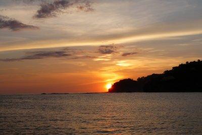 Sunset Onboard Pelican Eyes