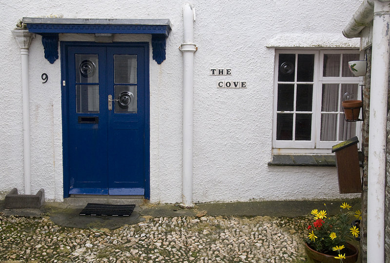A Cottage On Another Little Street In St. Mawes